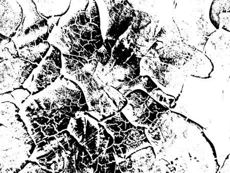 Distressed Cracked Peinture Overlay Texture. style grunge