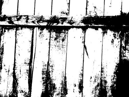 Wooden planks distress overlay texture. Vector illustration. Grunge texture.
