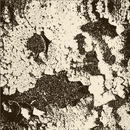 bark: Wooden bark distress overlay texture. Vector illustration. Grunge texture.
