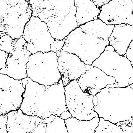 Distressed Cracked asphalt Overlay Texture. Grunge style