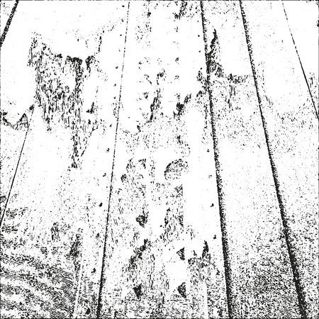 Distressed overlay wooden parquet texture in grunge style Illustration