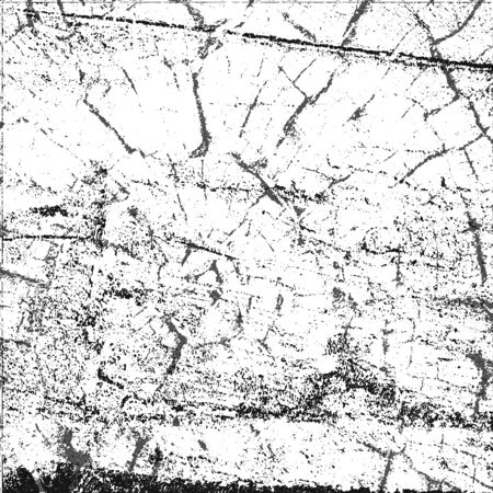 Distressed overlay wooden bark texture in grunge style