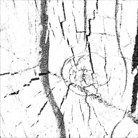 nakładki: Distressed overlay old wooden bark, grunge background. Ilustracja