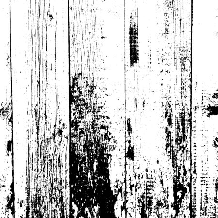 Distressed overlay wooden fence texture, grunge background. abstract halftone vector illustration.