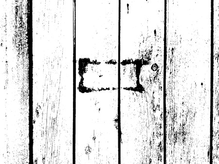 Distressed overlay damaged wooden fence grunge texture, grunge background. abstract halftone vector illustration. tree texture background