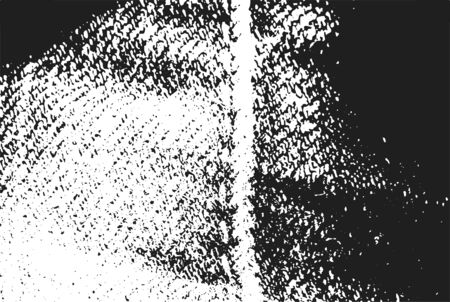 weaving: Distressed overlay texture of weaving jeans denim fabric. grunge background. abstract halftone vector illustration