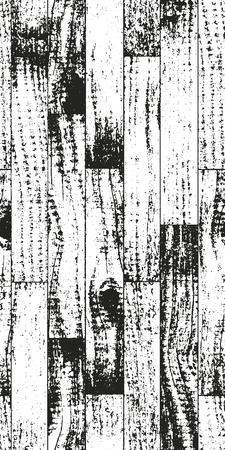 nakładki: Distressed overlay wooden parquet texture, grunge vector background.