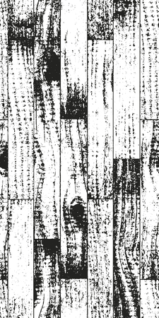parquet: Distressed overlay wooden parquet texture, grunge vector background.