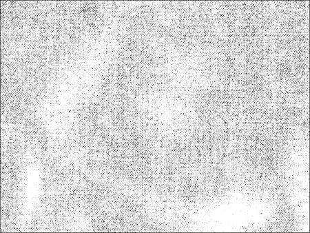 Distressed nakładki tekstury tkania tkaniny. grunge. abstrakcyjne półtonów ilustracji wektorowych Ilustracje wektorowe