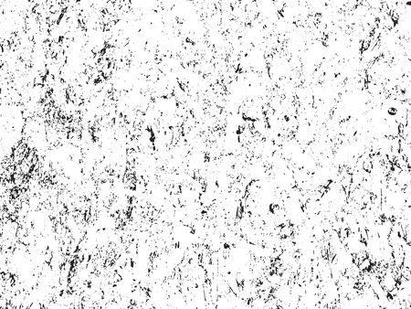 Distressed overlay texture of cracked concrete. grunge background. abstract halftone vector illustration Stock Illustratie