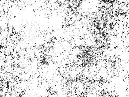 dusty: Distressed overlay texture of cracked concrete. grunge background. abstract halftone vector illustration Illustration