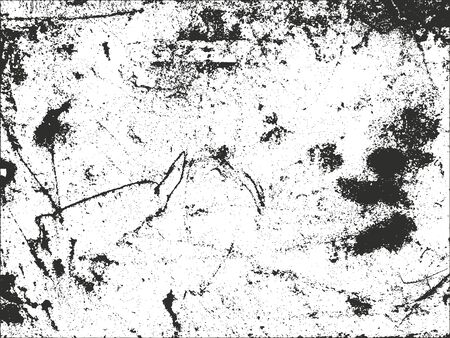 Distressed overlay texture of cracked concrete. grunge background. abstract halftone vector illustration 向量圖像