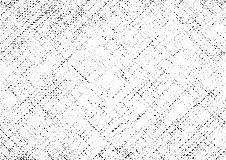 filament: Distressed overlay texture of weaving fabric. grunge background. abstract halftone vector illustration