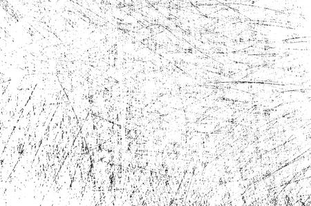 Distressed overlay texture of rusted peeled metal. grunge background. abstract halftone vector illustration Ilustração Vetorial