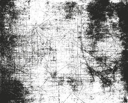 Lamentando superposición textura de metal oxidado pelado. fondo del grunge. ilustración vectorial de semitonos