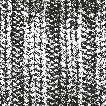weaving: Distressed overlay texture of weaving fabric. grunge. abstract halftone vector illustration Illustration