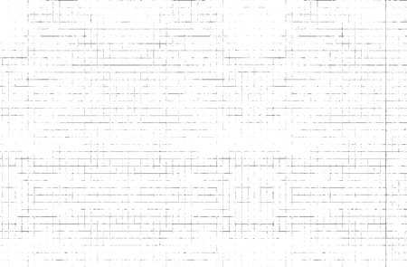 Distressed overlay texture of paper grid. grunge background. abstract halftone vector illustration