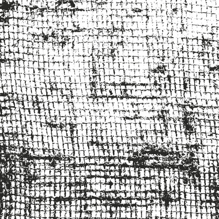 weaving: Distressed overlay texture of weaving fabric. grunge background. abstract halftone vector illustration