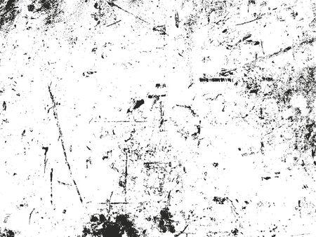 distressed: Distressed overlay texture of rusted peeled metal. Illustration