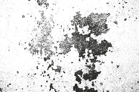 distressed: Distressed overlay texture of cracked concrete. Illustration