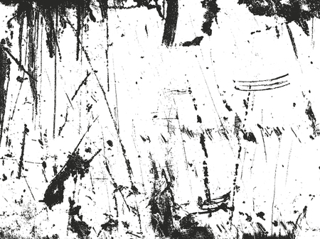 scratches: Distressed overlay texture of rusted peeled metal. grunge background. abstract halftone vector illustration