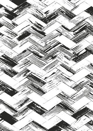 Distressed overlay wooden texture, grunge background. Illustration