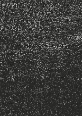Distressed overlay texture of natural leather, grunge vector background. abstract halftone vector illustration