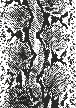 Trudnej sytuacji nakładki tekstury skóry krokodyla lub skóry węża, tło wektor grunge.