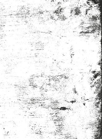 Texture de recouvrement en détresse de béton fissuré, de pierre ou d'asphalte. fond grunge illustration vectorielle abstrait demi-teinte