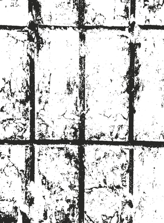 Distressed overlay texture of old brickwork, grunge background. abstract halftone vector illustration. Stock fotó - 127223580