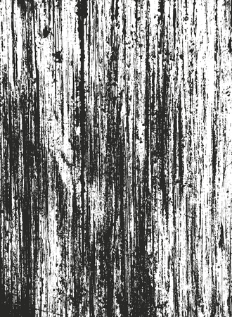 Distressed overlay wooden texture, grunge vector background. 免版税图像 - 127024349