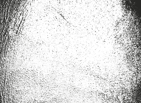 Distressed overlay texture of cracked concrete, stone or asphalt. grunge background. abstract halftone vector illustration Banque d'images - 126644857