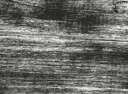 Textura de madera superpuesta apenada, fondo de vector grunge.