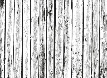 Texture en bois de superposition en détresse, fond de vecteur de grunge.