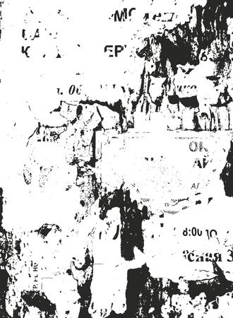 Distressed overlay texture of cracked concrete, stone or asphalt. grunge background. abstract halftone vector illustration Vektorové ilustrace