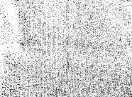 Texture de superposition en détresse de tissu de tissage. fond grunge. illustration vectorielle abstraite demi-teinte