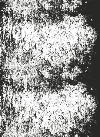 Distressed overlay texture of cracked concrete, stone or asphalt. grunge background. abstract halftone vector illustration