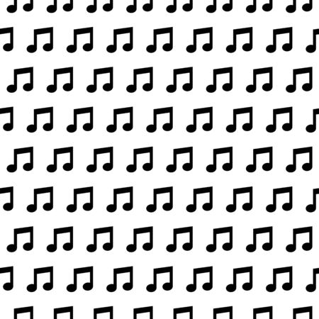 Seamless wallpaper with music notes