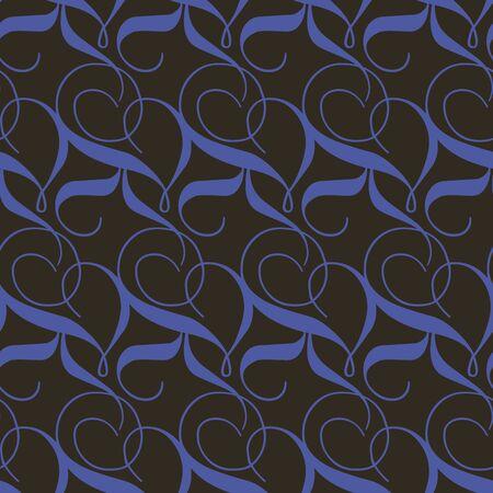 Seamless vintage background. Vector background for textile design. Wallpaper, background, web design.