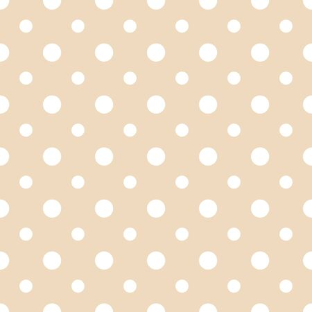 Abstract vector dotted seamless pattern. Colorful pastel background Çizim
