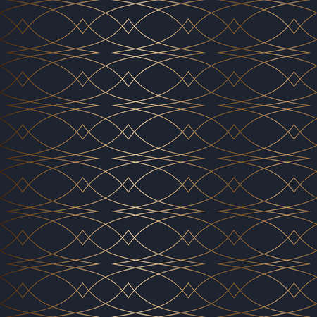 Abstract vector geometric seamless pattern.
