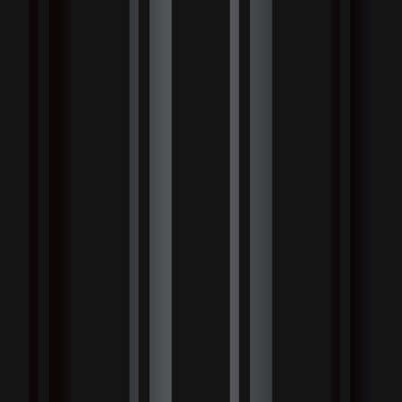 Luxury black metal gradient background with geometric seamless pattern, vertical stripes Illustration