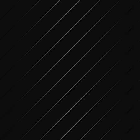 Luxury black metal gradient background with geometric seamless pattern, diagonal parallel stripes