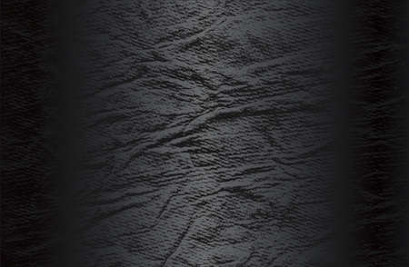 Luxury black metal gradient background with distressed natural, genuine animal skin, leather texture.