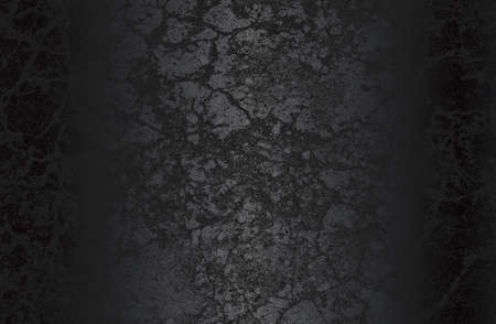 Luxury black metal gradient background with distressed metal plate texture. Standard-Bild - 155859776