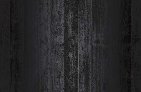 Luxury black metal gradient background with distressed wooden parquet texture. Standard-Bild - 155859940
