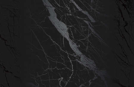 Luxury black metal gradient background with distressed cracked concrete, marble texture. Vector illustration
