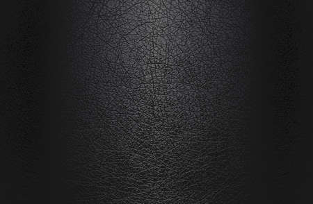 Luxury black metal gradient background with distressed natural, genuine animal skin, leather texture. Vector illustration Archivio Fotografico - 161345035