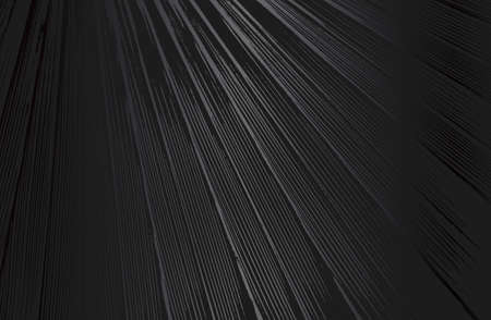 Luxury black metal gradient background with distressed closeup palm leaf texture with streaks. Vector illustration