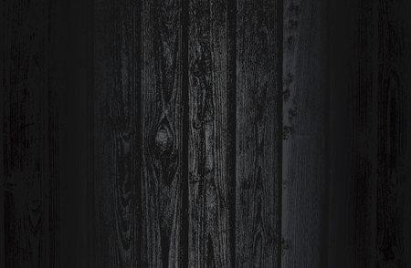 Luxury black metal gradient background with distressed wooden parquet texture. Vector illustration Archivio Fotografico - 161345055